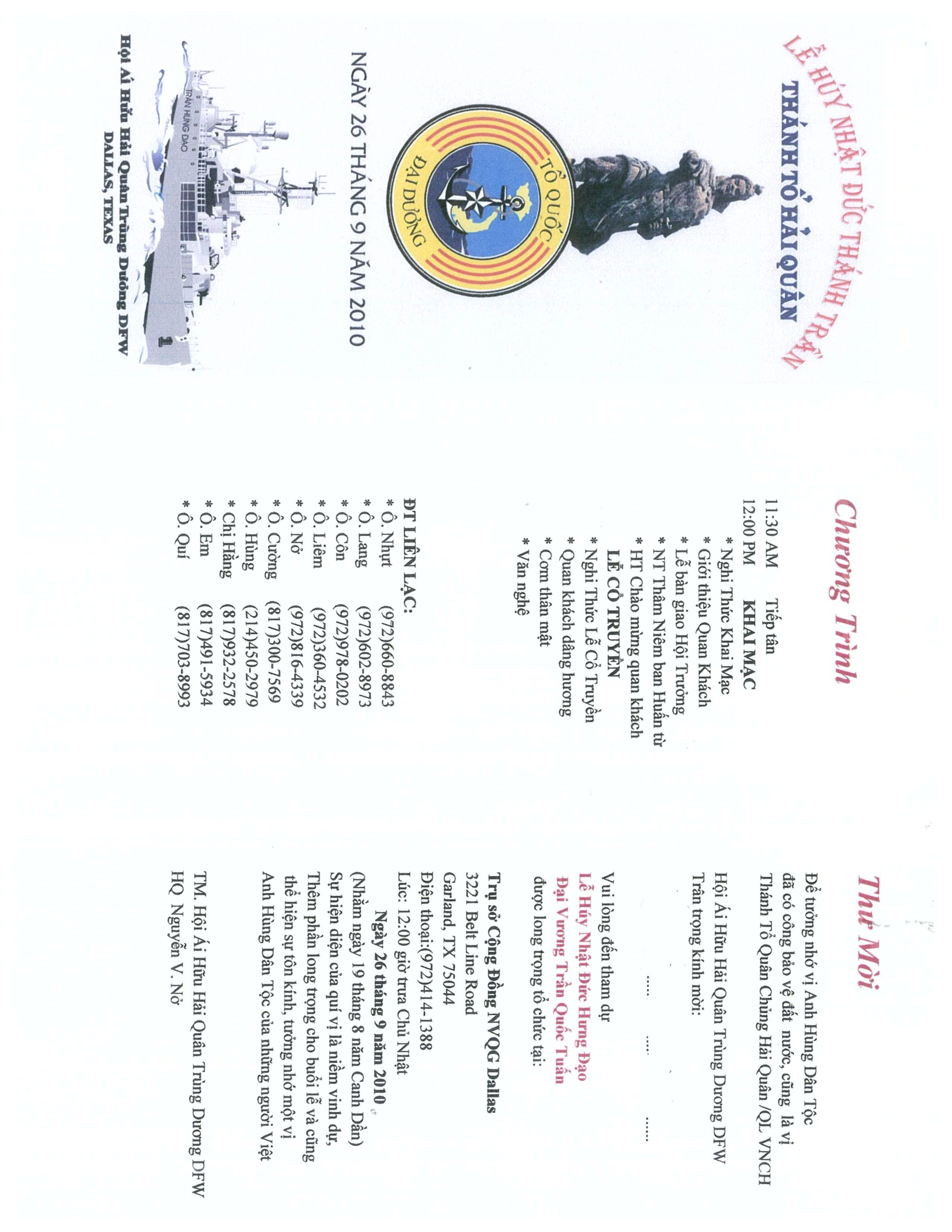 Hội Hải Quân Trùng Dương tại Dallas-Fort Worth, Texas, USA